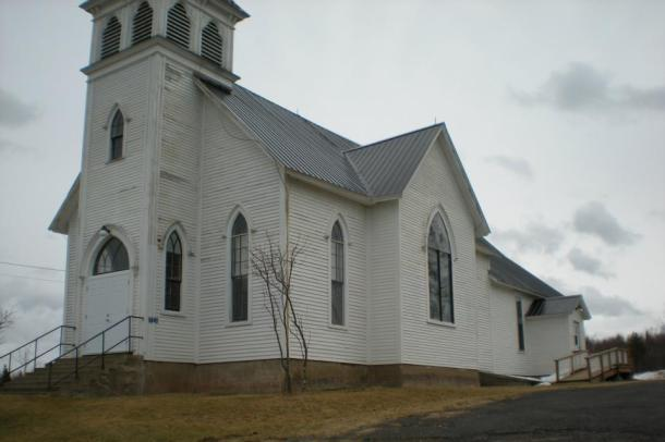 My little home church in Codys New Brunswick